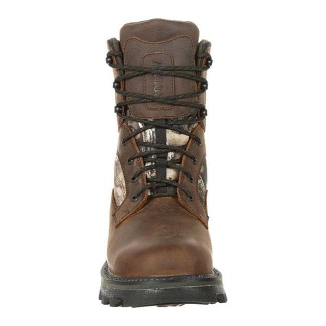 3328fa5795e Rocky Men's BearClaw FX 800G Insulated WP Outdoor Boot RKS0399 Brown/Mossy  Oak Country Full Grain Leather/Nylon