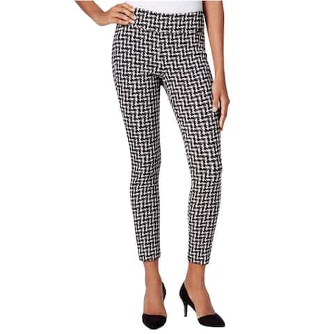 Bar Iii Womens Checkered Dress Trousers