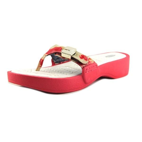 c2df588a29a Shop Dr. Scholl s Roll Women Open Toe Synthetic Orange Thong Sandal ...