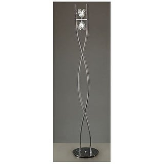 Mantra Lighting 1463 Eclipse 2 Light Floor Lamp