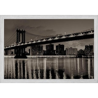 Easy Art Prints Alan Blaustein's 'Manhattan' Premium Canvas Art