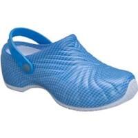 Dickies Women's Zigzag Blue Pattern