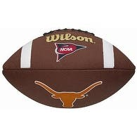Texas Longhorns Logo Wilson NCAA Composite Leather Full Size Football