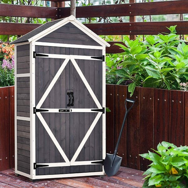 Mcombo Outdoor Storage Cabinet
