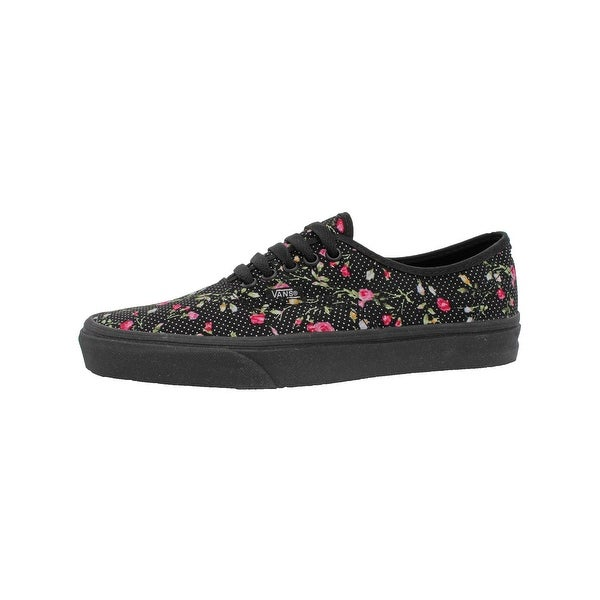 57c0262353 Vans Womens Authentic Skate Shoes Floral Print Lo Top - 9.5 medium (b