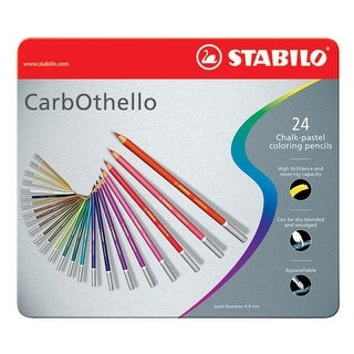 Stabilo - CarbOthello Pastel Pencil - Set - 60-Color Woodbox Set