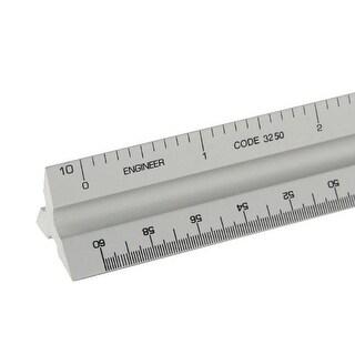 3000 Series 12 Silver Solid Core Aluminum Triangular