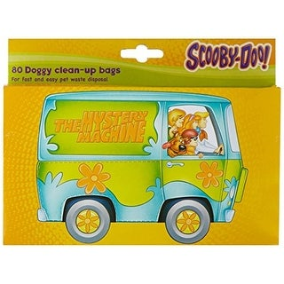 Scooby-Doo Doggy Clean-Up Bags, 80 Count