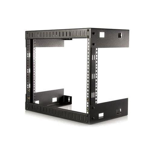 """Startech Rk812wallo 12"""" 8U Open Frame Wall Mount Equipment Rack"""