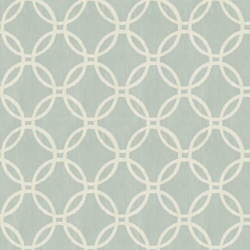 Brewster 2532 20638 Eaton Blue Geometric Wallpaper