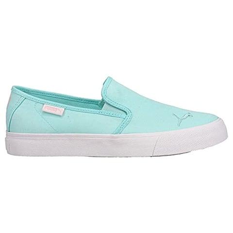 PUMA Womens Bari Slipon Pastel Slip On Sneakers Shoes Casual - Pink