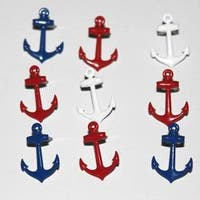 Anchor - Eyelet Outlet Shape Brads 12/Pkg