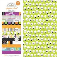 "Halloween - Doodlebug Paper Plus Value Pack 12""X12"" 8/Pkg"