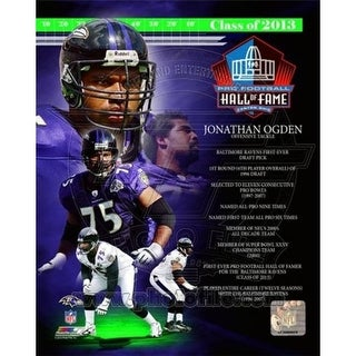 Photofile Jonathan Ogden NFL Hall Of Fame Class Of 2013 Sports Phot