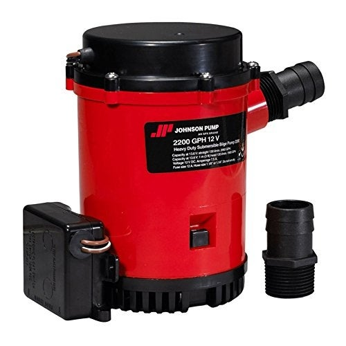 Hd Bilge Pump 2200 Gph W/Ult. Switch 12V