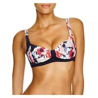 Kate Spade Womens Colombe D'Or Printed Bralette Swim Top Separates
