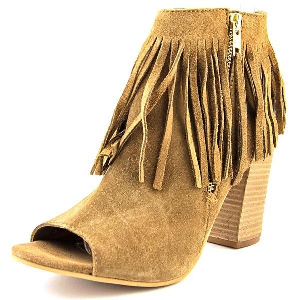 Carlos by Carlos Santana Jasper Hawa Women Dark Brulee Boots