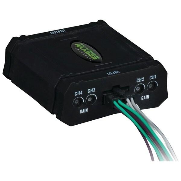 Axxess Ax-Aloc648 4-Channel Adjustable Line-Output Converter (80 Watts)