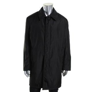 London Fog Mens Long Sleeves Outerwear Coat