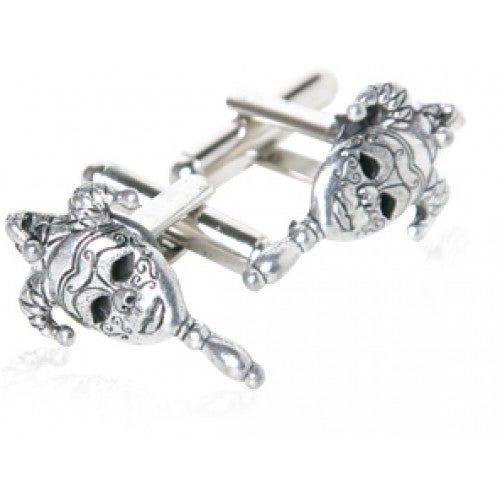 New Orleans Mask Mardi Gras Party Fat Tuesday Cufflinks