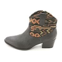 Unlisted Womens It's A Hit Pointed Toe Ankle Western Bootie
