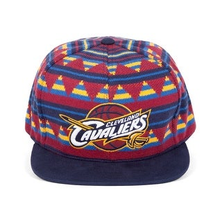 Mitchell & Ness Men's NBA Mixtec Snapback Hat - Cleveland Cavaliers