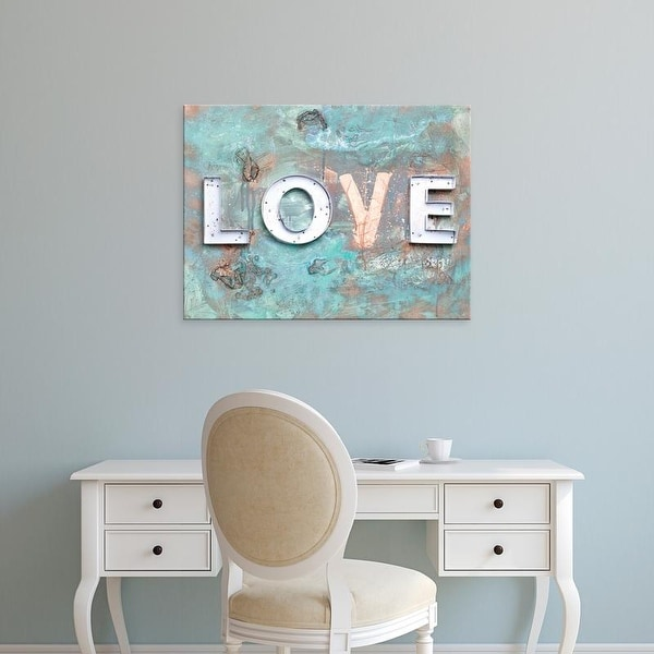 Easy Art Prints Kent Youngstrom's 'Love Patina II' Premium Canvas Art