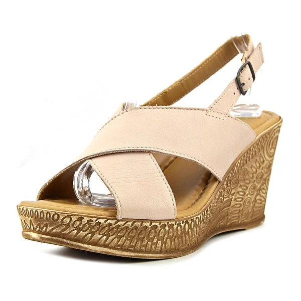 Bella Vita Lea Women Natural Sandals