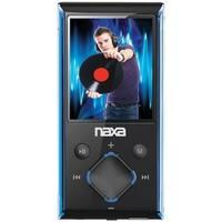 Naxa NAXNMV173NBLM Naxa NMV-173 Portable Media Player with 1.8-Inch LCD Screen, Built-in 4GB Flash Memory and SD Card Slot