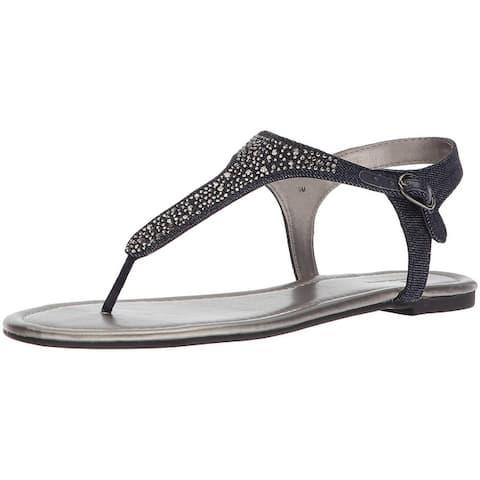 Bandolino Womens Kyrie Split Toe Casual Slingback Sandals