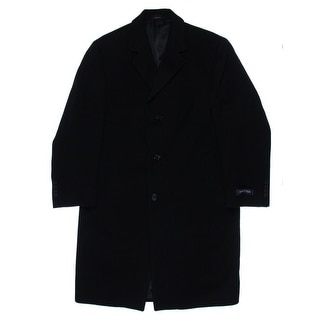 Nautica Mens Coat Wool Solid