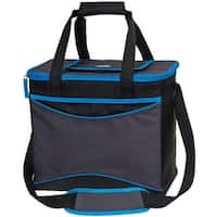 Igloo 63057 Collapse & Cool 36 Tech Basic Soft Sided Cooler, Blue