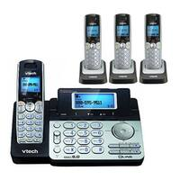 VTech DS6151 Base + DS6101-3 Cordless Handsets Combo with Dual Speakerphone