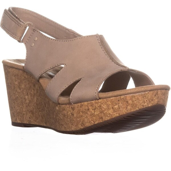27fd4dac6f5 Shop Clarks Annadel Bari Platform Wedge Sandals