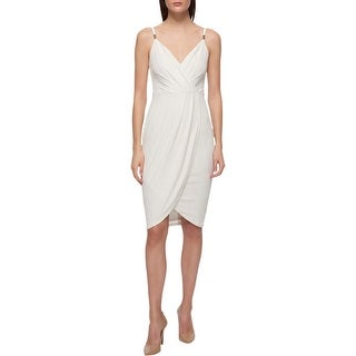 Guess Womens Slip Dress Metallic Printed - 4