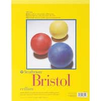 "20 Sheets - Strathmore Bristol Vellum Paper Pad 11""X14"""