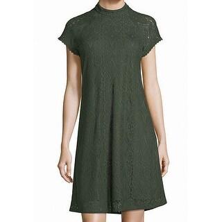 Laundry by Shelli Segal Womens Mock Neck Sheath Dress