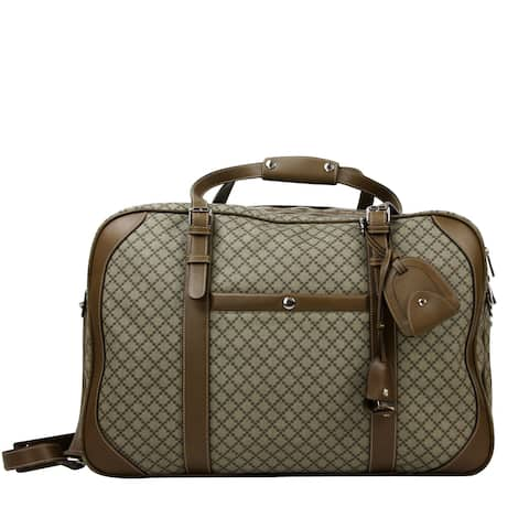 877192bd9a9d Gucci Unisex Diamante Plus Beige Coated Canvas Travel Bag 267905 9788 - One  Size