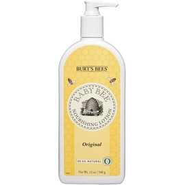 Burt's Bees Baby Bee Nourishing Lotion, Original 12 oz (4 options available)