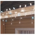 Sylvania V42080-71 LED C-Cicle Twinkle Light Set, White, 120 Lights, 9-1/2' L - Thumbnail 0