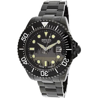 Invicta Men's Pro Diver 90287 Black Stainless-Steel Diving Watch