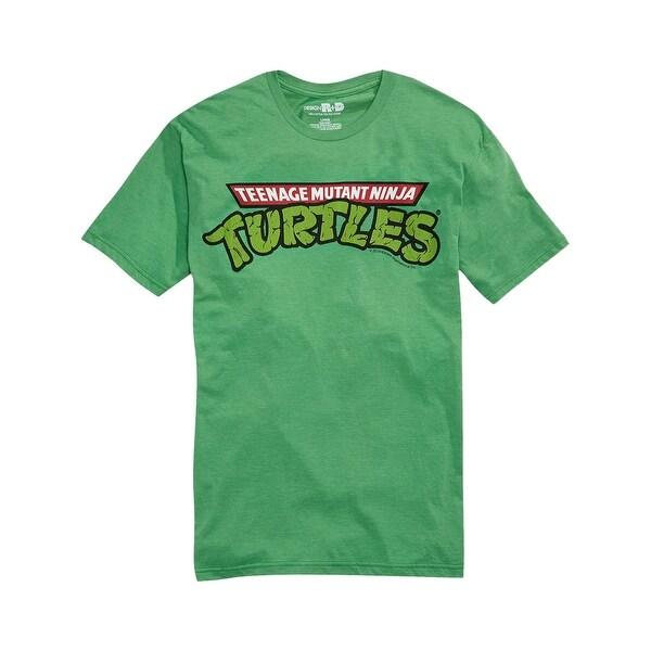 40b19295c Shop DESIGN R+D Teenage Mutant Ninja Turtles Graphic T-Shirt Green Medium M  - Free Shipping On Orders Over $45 - Overstock - 15128000