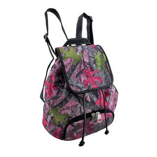 TrueTimber Sassy B Pink Camouflage Concealed Carry Backpack