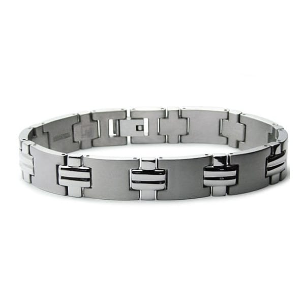 Titanium Men's Link Bracelet 8.5 Inches