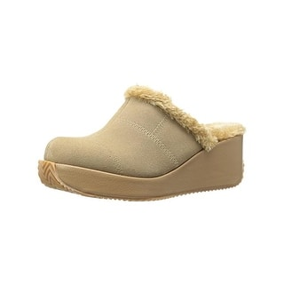0e29fb2e51a Volatile Womens Impressive Clogs Faux Fur Wedge (5 options available)