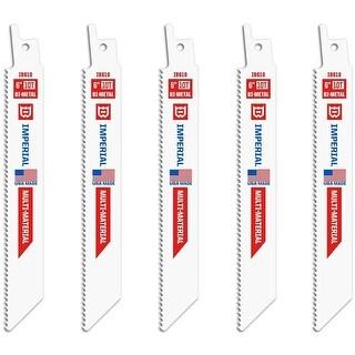 "Imperial Blades IB610-5 Reciprocating Saw Blades, 6"""