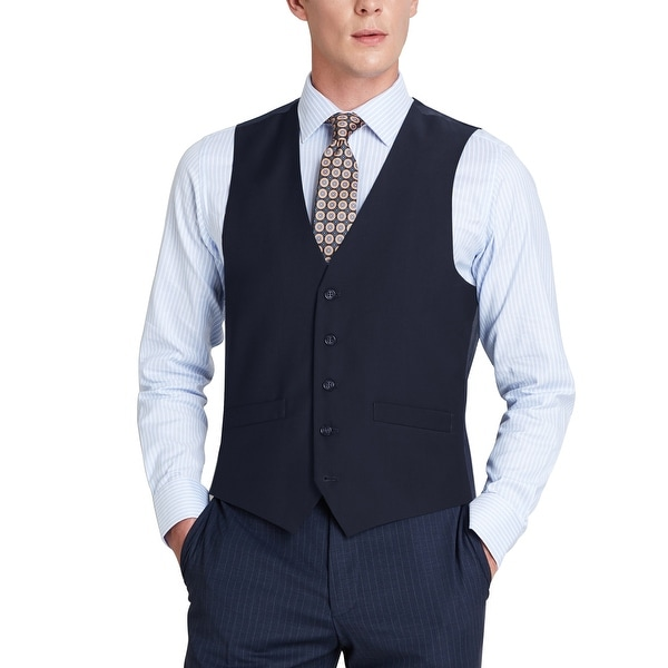 Mens Regular Fit Suit Separate Vest Dress Vest Waistcoat For Men