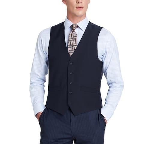 Men's Regular Fit Suit Separate Vest Dress Vest Waistcoat For Men