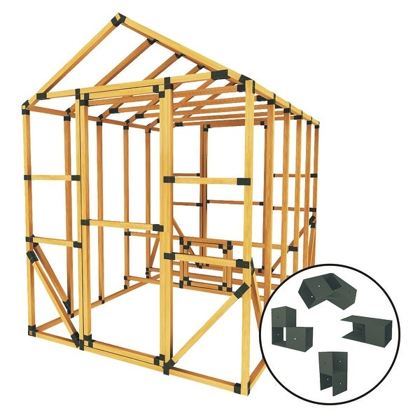 Shop Build Your Own E Z Frame 8x10 Standard Chicken Coop And Run Kit