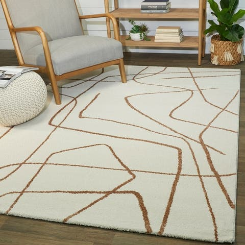 Descartes Abstract Modern Area Rug